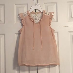Dusty pink summer top!